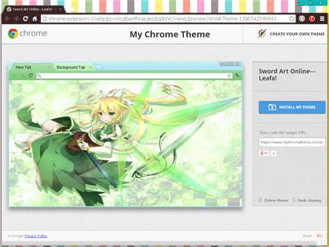 themes chrome browser anime chrome browser themes technology anime forums
