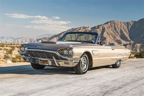 collectible classic   ford thunderbird convertible