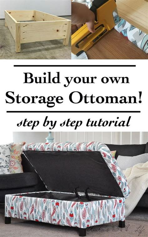 Make Your Own Ottoman Best 25 Ottoman Ideas On Diy Bath Seats Diy Makeup From Scratch And Diy