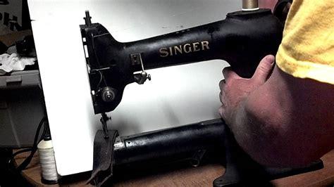 Rare Antique 1934 Industrial Singer 119 2 Leather Walking