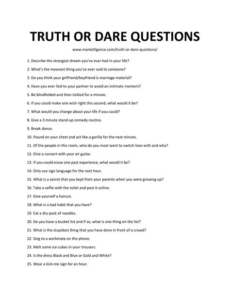 40 truth or dare questions to ask your boyfriend 124 really good truth or dare questions the only list