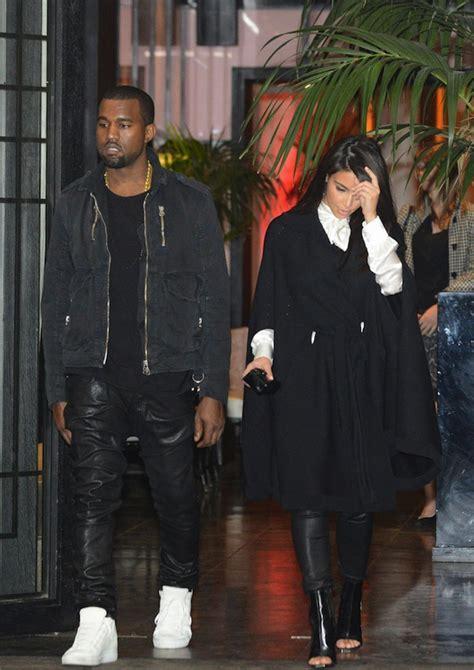 kanye west zip kanye west wears burberry jacket denim shirt leather