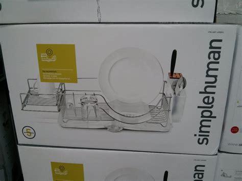 Dish Rack Costco by Simple Human Flip Top Dishrack