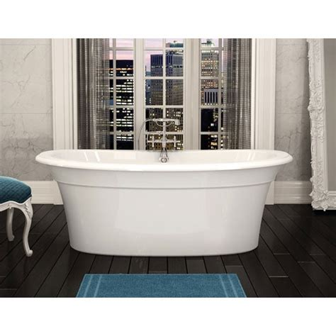 maax bathtub reviews maax ella sleek freestanding bathtub