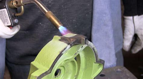 tig welding cast iron vise repair