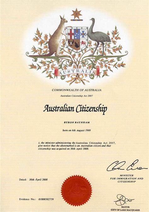 Document Identifier For Citizenship