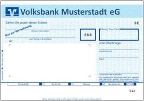 einzahlungsautomat deutsche bank verrechnungsscheck