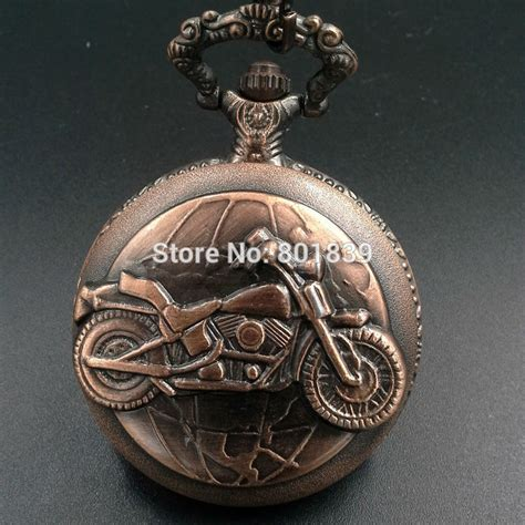 brand new colectable motorcycles copper tone mens