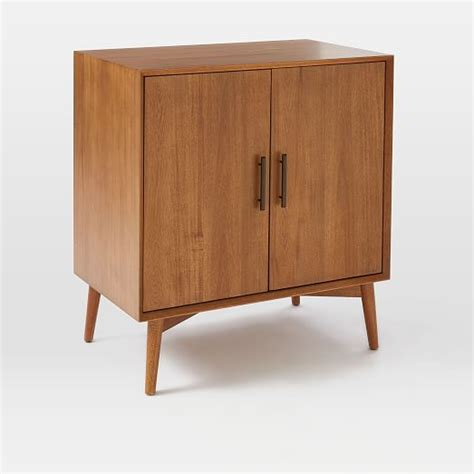 Mid Century Cupboard by Mid Century Bar Cabinet Small West Elm