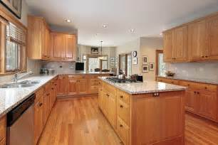 Kitchens With Light Wood Cabinets 43 Quot New And Spacious Quot Light Wood Custom Kitchen Designs