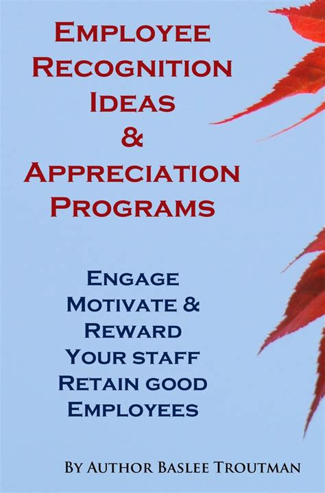 employee recognition ideas programs  recognize  staff engage motivate reward