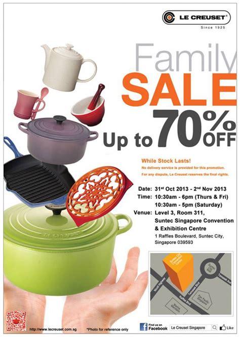 le creuset family sale 2013 up to 70 discount pots pans - Le Creuset Sale