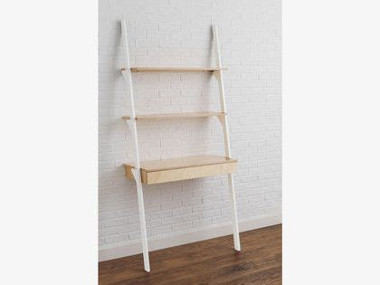 jai white ladder shelving unit with desk new house