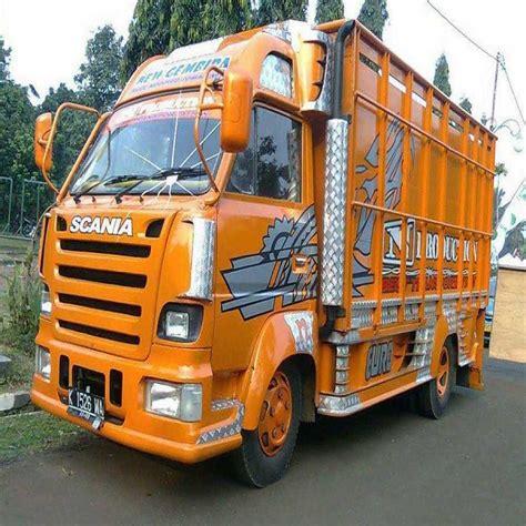 Truk Modifikasi Ceper modifikasi truk canter ceper lagi viral terbaru