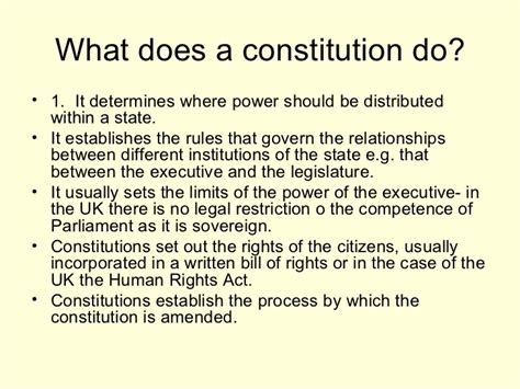 Essay About The Constitution Of The United States by Does Britain Need A Written Constitution Essay Constitution Of The United Kingdom