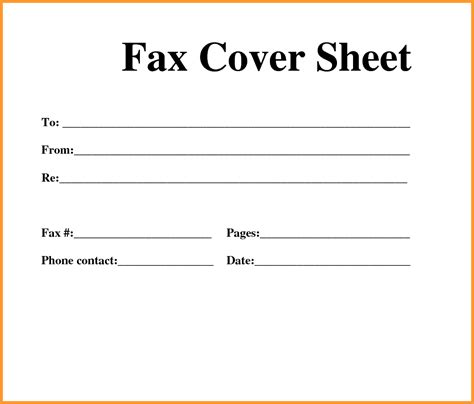 cover pages for word templates fax cover sheet images letter format mail