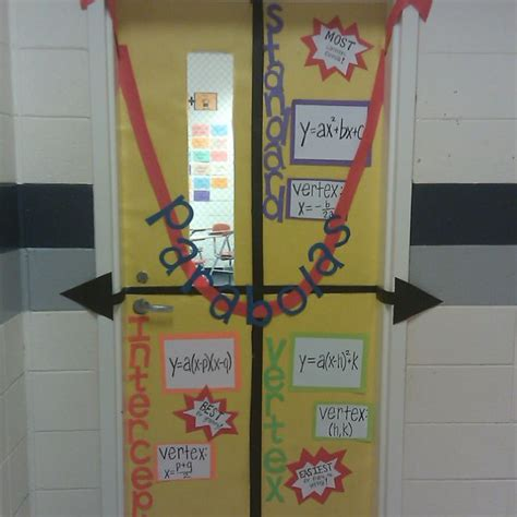 christmas door decoration for six graders best 25 math door decorations ideas on math decorations math classroom and math boards