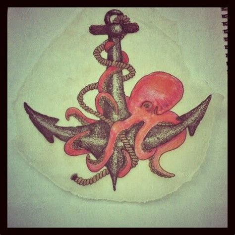 octopus anchor tattoo 1000 ideas about octopus tattoos on octopus