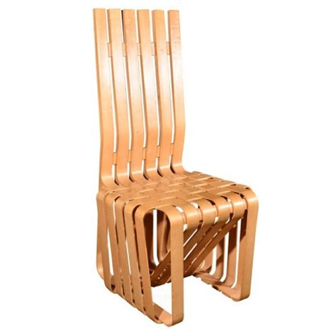 Design For Bent Wood Chairs Ideas Frank Gehry New Bentwood Furniture Designs Mit List Visual Arts Center