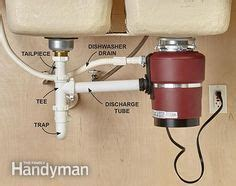 replacing a garbage disposal in a sink intelligent sink drain scheme image of properly