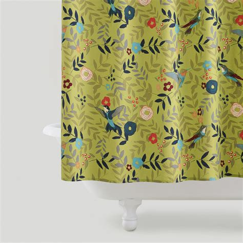 world market bird shower curtain woodland birds shower curtain world market
