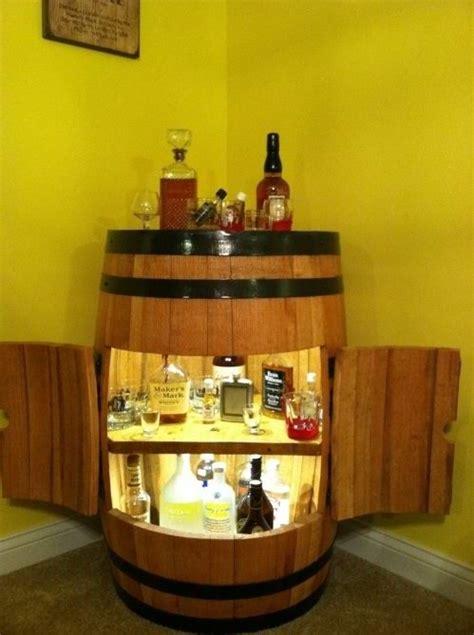 alkohol aufbewahrung barrel bar home