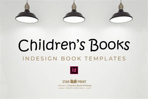 Childrens Book Template To Download Star Print Brokers Children S Book Template