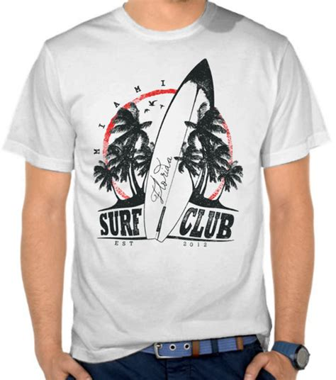 Kaos Distro Wars Comic 15 jual kaos miami surf club surfing selancar satubaju