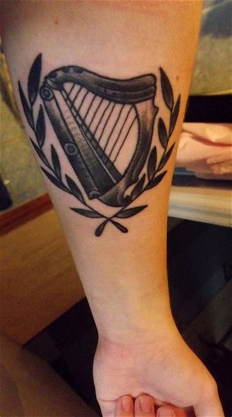harp tattoo 1000 images about harps on and