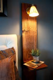 Vertical Wall Sconce Small Nightstand Designs That Fit In Tiny Bedrooms