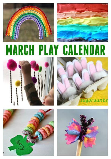 march craft ideas for march activities for free monthly play calendar