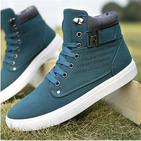 s tennis high shoes casual sneakers boots antislip