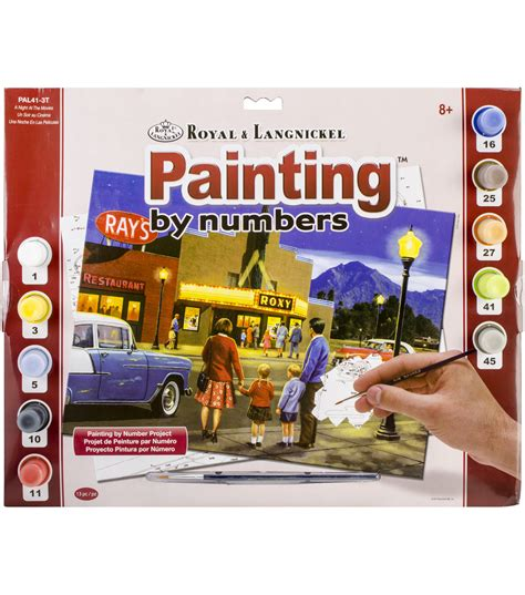 paint nite kits paint by number kit 15 375 quot x11 25 quot a at the