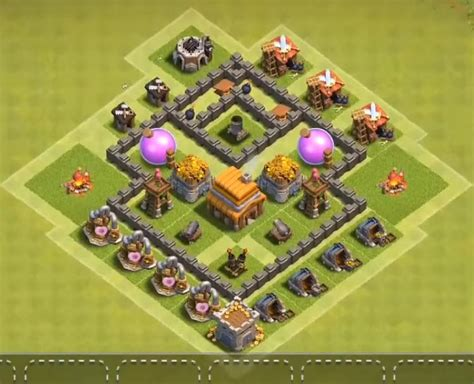 layout editor coc th 4 top 15 best town hall 4 war base farming trophy layouts