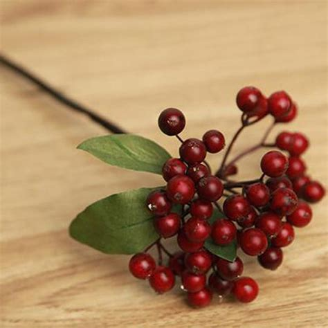 white berry bunch artificial berries christmas wreaths