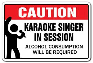 Decorative Gift Box Karaoke Singer In Session Novelty Sign Gift Songs Music
