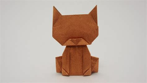 Origami Dollar Cat - money origami myideasbedroom
