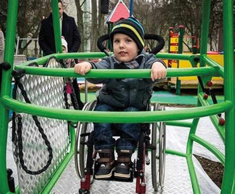 swing for wheelchair users inclusive wheelchair swing caledonia play