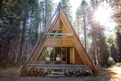 Vacation Cabin Plans spacious luxury cabin near yosemite national park california