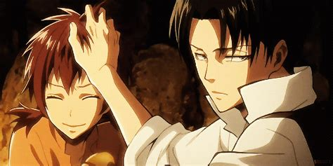 Mikasa Home Decor Affectionate Hair Ruffling Levi And Isabel From Attack On