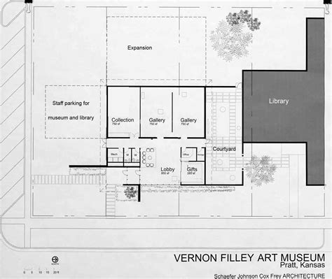 photo of blueprints for vernon filley museum vernon