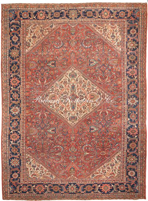 Antique Sultanabad Oriental Rug Antrr805 Antique Rugs