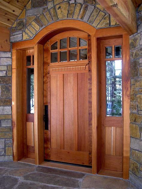 craftsman front doors  homes custom contemporary
