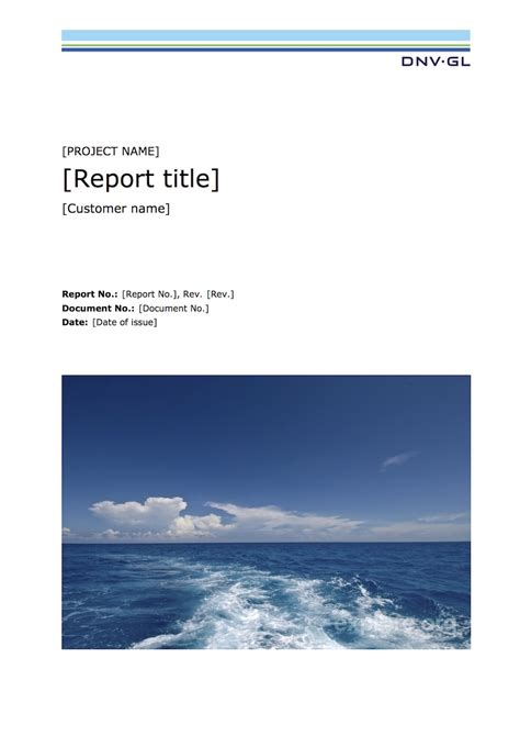 title page of project report sle typesetting showcase