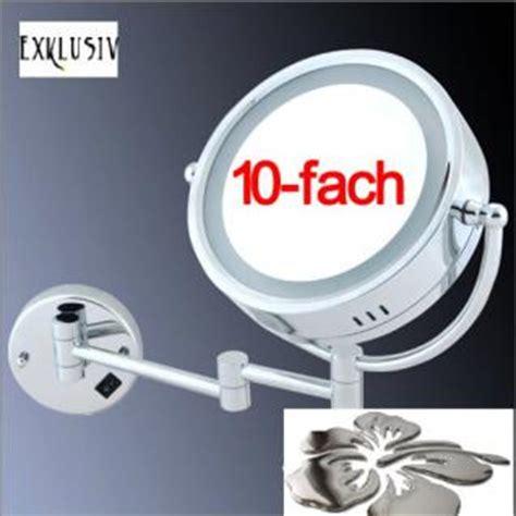 kosmetikspiegel mit beleuchtung 10 fach kosmetikspiegel mit beleuchtung g 252 nstig bei yatego