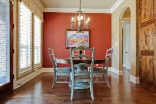 Red Dining Room Walls Dining Room With Red Accent Wall The Interior Design
