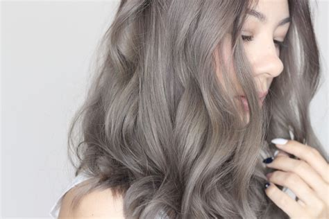 ash gray color 35 smoky and sophisticated ash brown hair color looks