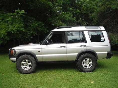 2000 land rover lifted purchase used 2000 land rover discovery ii lifted 35 tires