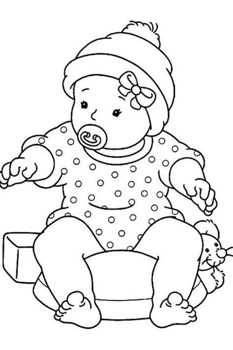 coloring pages for girl toddlers baby girl coloring pages az coloring pages