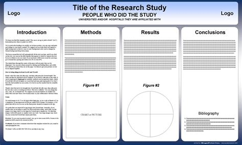 Free Powerpoint Scientific Research Poster Templates For Printing For Research Poster Template Powerpoint Research Template